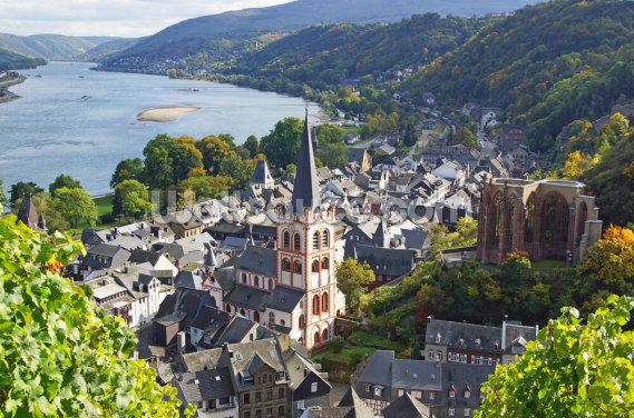 Rhine Valley Wallpaper Wall Murals
