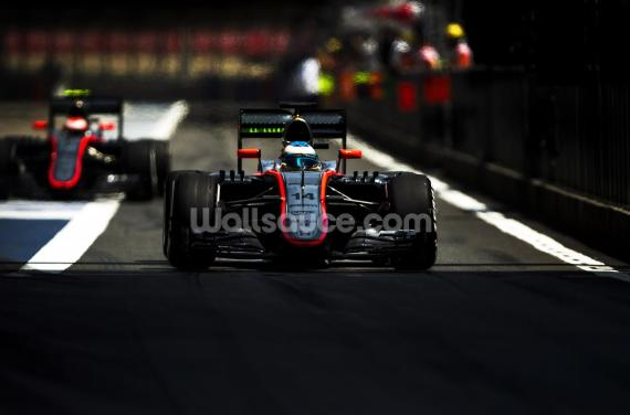 Fernando Alonso Mclaren Wallpaper Wall Murals