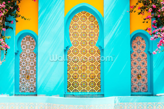 Moroccan Palace Wallpaper Wall Murals