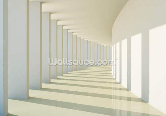 3D Corridor Wallpaper Wall Murals