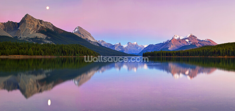 Maligne Lake Wallpaper Wall Murals