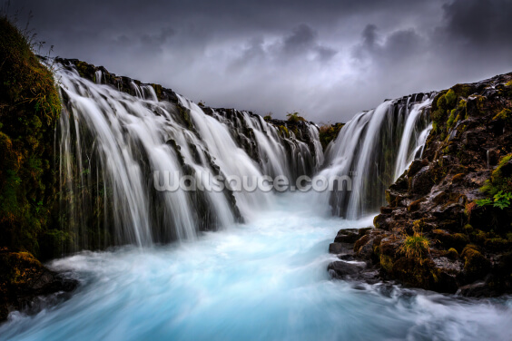 Bruarfoss 2 Wallpaper Wall Murals