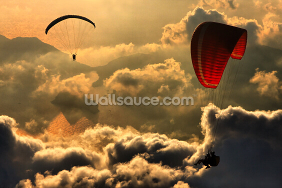 Paragliding Wallpaper Wall Murals