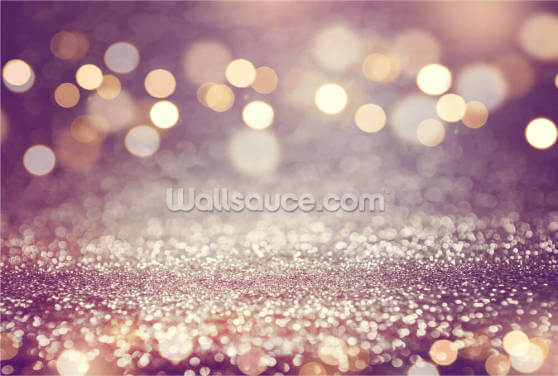 Purple Rain Glitter Wallpaper Wall Murals