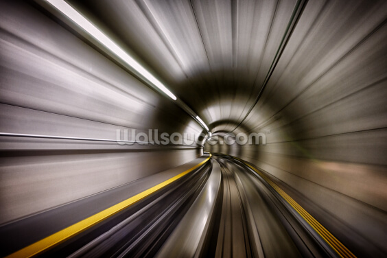 Tube Speed Wallpaper Wall Murals
