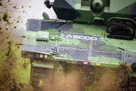 ASCOD Armoured vehicle Wallpaper Wall Murals