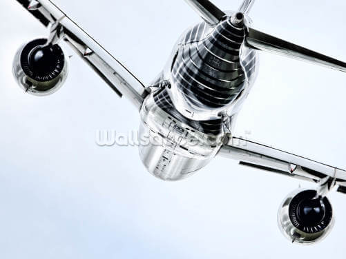 Airbus A350 in Air Wallpaper Wall Murals