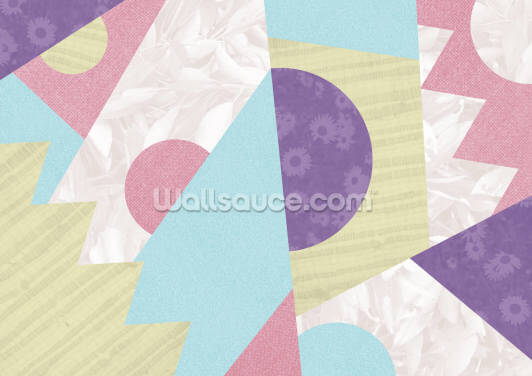 Zig Zag Pop Wallpaper Wall Murals
