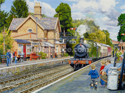 Hampton Loade Severn Valley Railway Wallpaper Wall Murals