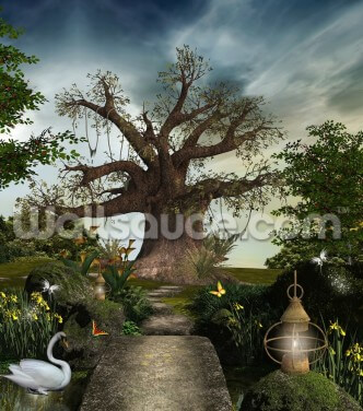 Fabulous Garden Wallpaper Wall Murals