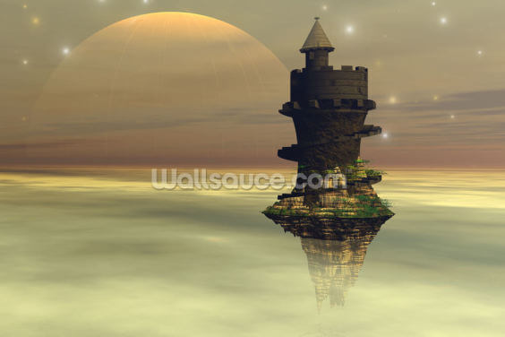 Sky Castle Wallpaper Wall Murals