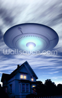 UFO Wallpaper Wall Murals