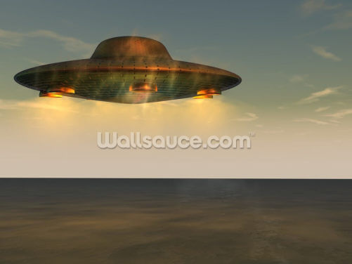 UFO - Unidentified Flying Object Wallpaper Wall Murals