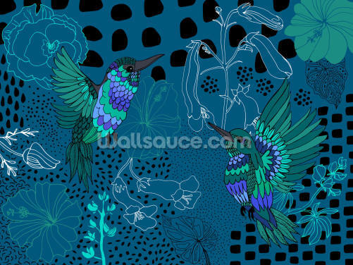Soul Birds Hummingbird Wallpaper Wall Murals