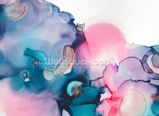 Pinks Blues Wallpaper Wall Murals