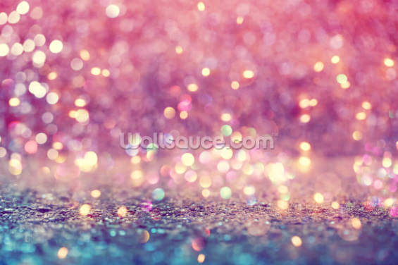 Abstract Shiny Light and Glitter Wallpaper Wall Murals