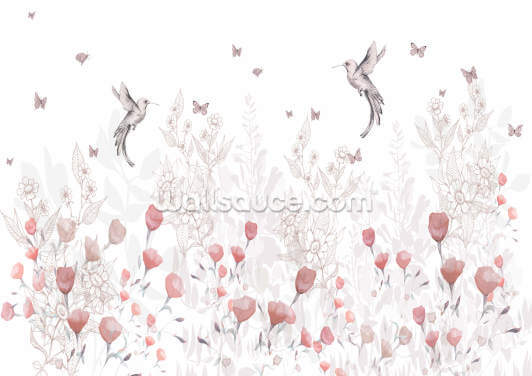 Sweet Blooms Wallpaper Wall Murals