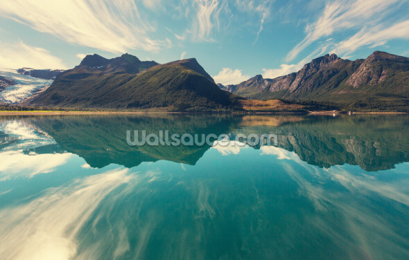 Glacier in Norway Wallpaper Wall Murals