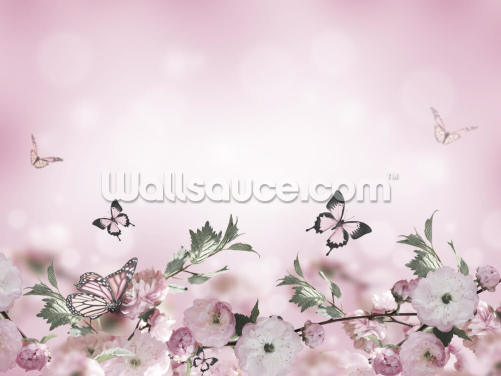 Dreamy Butterflies Wallpaper Wall Murals