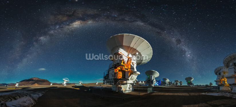 Space Observatory ALMA Wallpaper Wall Murals