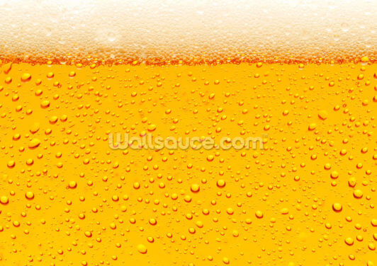 Beer Bubbles Wallpaper Wall Murals