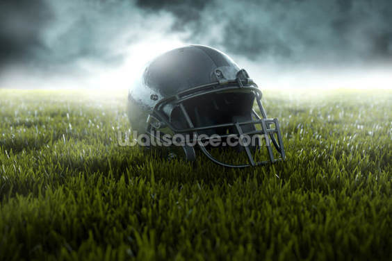 American Football Helmet Wallpaper Wall Murals