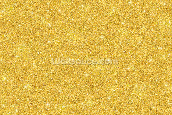 Gold Glitter Wallpaper Wall Murals