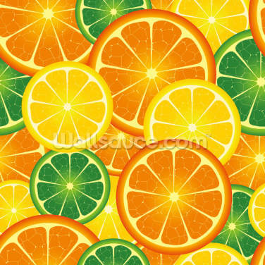 Citrus Fruits Wallpaper Wall Murals