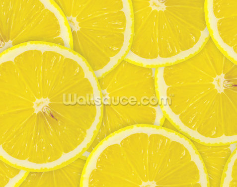 Lemon Slices Wallpaper Wall Murals