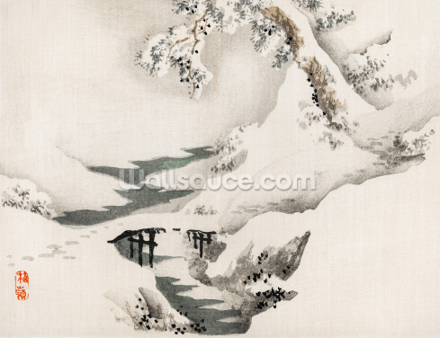 Snowscape Wallpaper Wall Murals