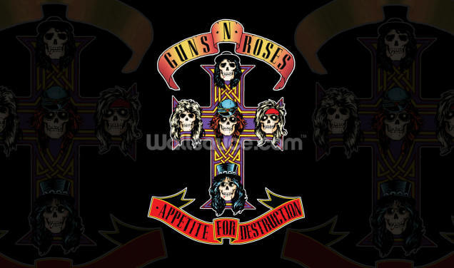 Guns N Roses Appetite for Destruction Wallpaper Wall Murals