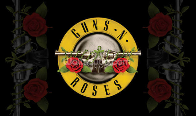 Guns N Roses Bullet Wallpaper Wall Murals