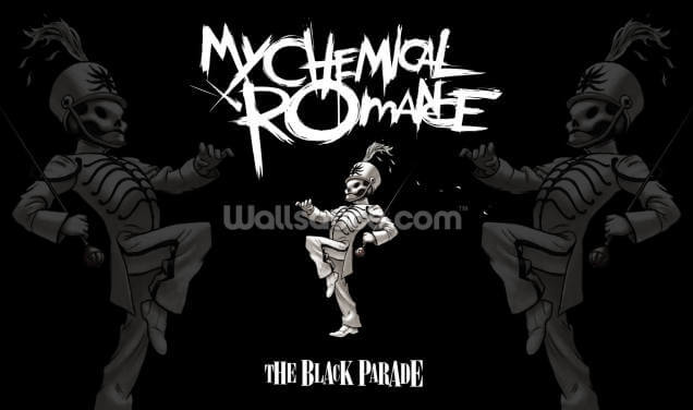 My Chemical Romance The Black Parade Wallpaper Wall Murals