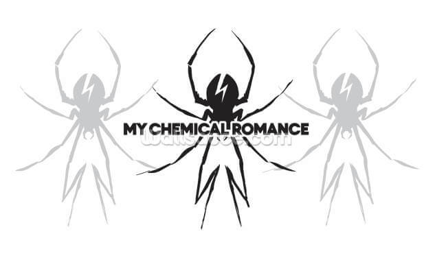 My Chemical Romance Spider Wallpaper Wall Murals