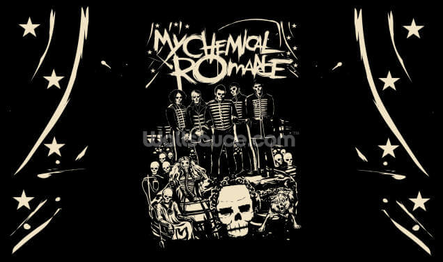My Chemical Romance Undead Wallpaper Wall Murals