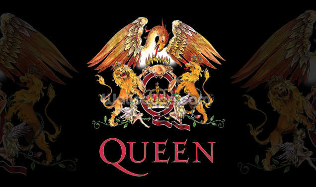 Queen Crest Wallpaper Wall Murals