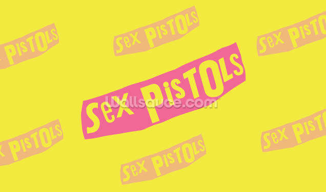 Sex Pistols Logo Wallpaper Wall Murals