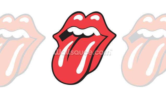 The Rolling Stones Classic Tongue Wallpaper Wall Murals