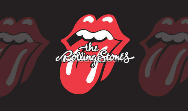 The Rolling Stones Tongue Wallpaper Wall Murals