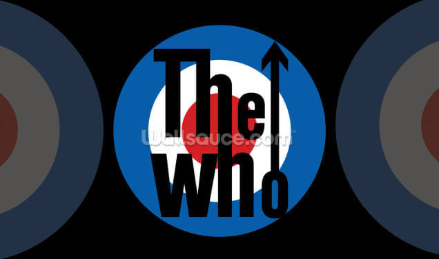 The Who Logo Wallpaper Wall Murals