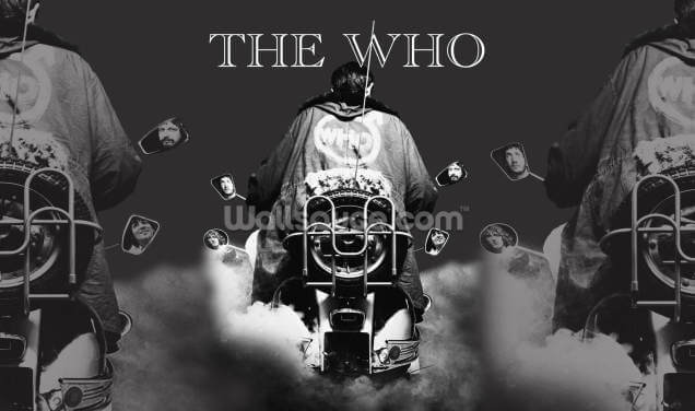 The Who Quadrophenia Wallpaper Wall Murals