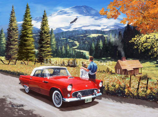 A Stop to Look Back Wallpaper Wall Murals