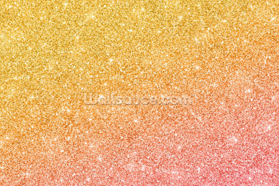 Gold Pink Glitter Wallpaper Wall Murals