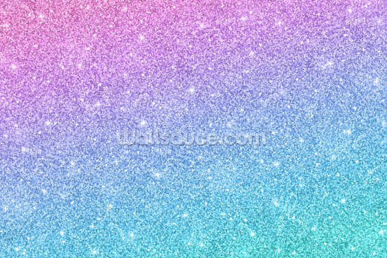 Slanted Blue and Purple Glitter Wallpaper Wall Murals