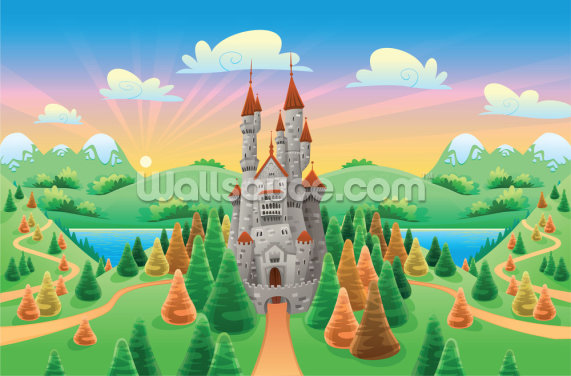 Medieval Castle Wallpaper Wall Murals
