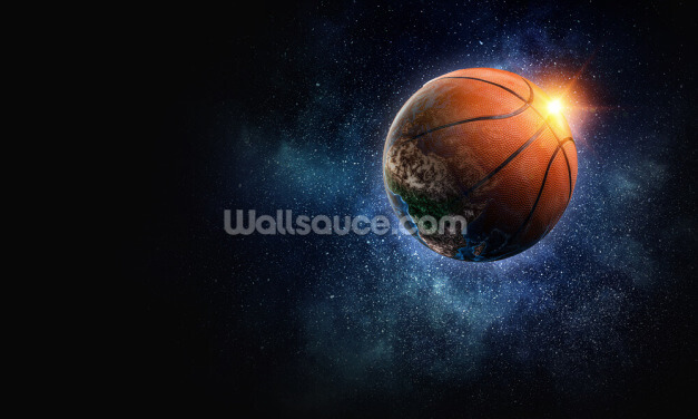 Basketball World Wallpaper Wall Murals