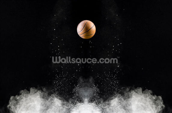 Basketball Impact Wallpaper Wall Murals
