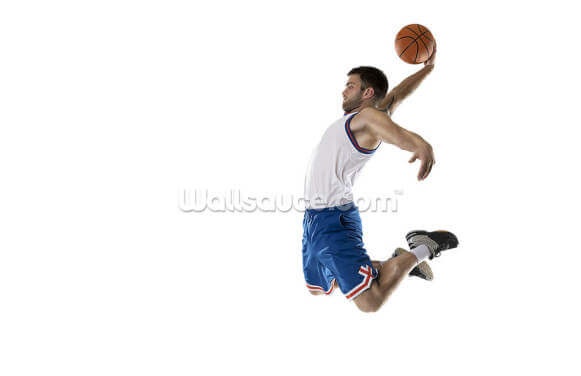 Shooting Hoops Wallpaper Wall Murals