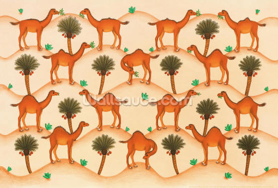 Camel Humps Wallpaper Wall Murals