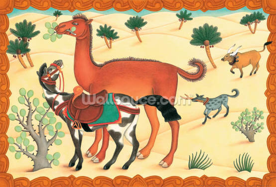 Camel's Humph! Wallpaper Wall Murals